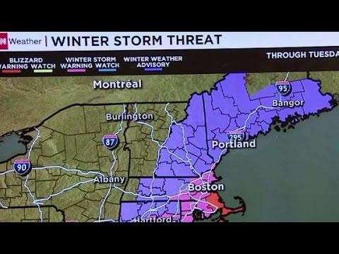 New England braces for snow ahead of primary