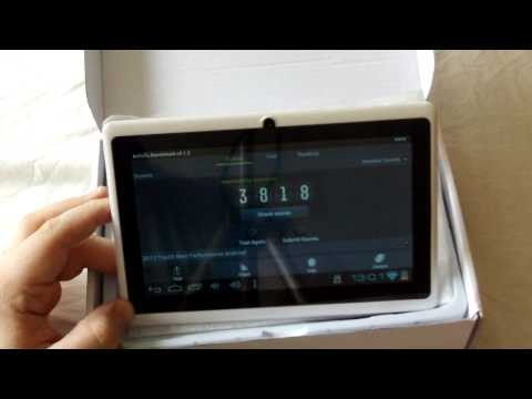 Allwinner 7inch A13 Android Tablet - Overclocked - review & games PART 2