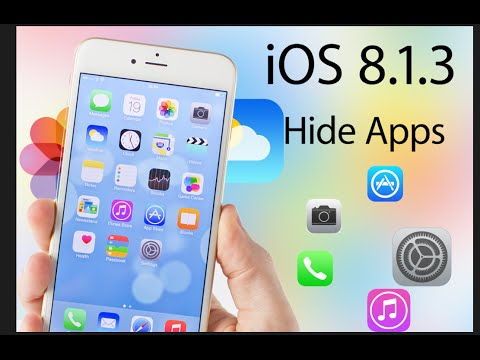 iOS 8.1.3 Glitch allows you to Hide iPhone Apps (Apple Default Apps)