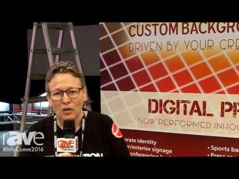 InfoComm 2016: Draper Shows Background Printing and Optically Seamless TecVision