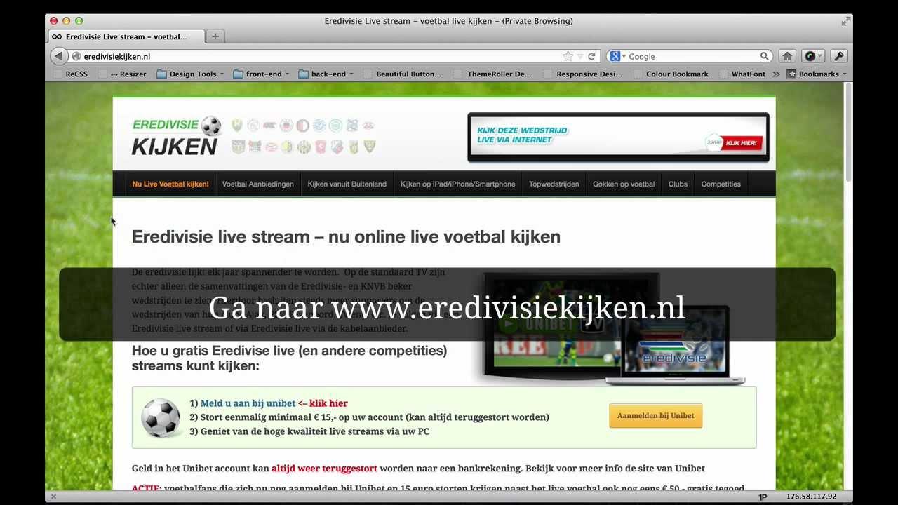 Eredivisie Live Op De Pc Kijken