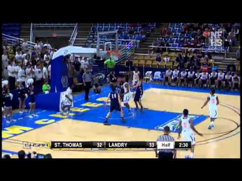 St. Thomas More #14 Trey Touchet 2nd bucket in a row