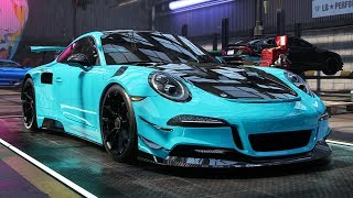 PORSCHE 911 GT3 RS BUILD - Need for Speed: Heat Part 20