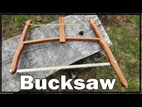 Custom Portable Bucksaw
