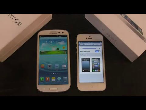 iPhone 5 VS Galaxy S3: An In-Depth Review