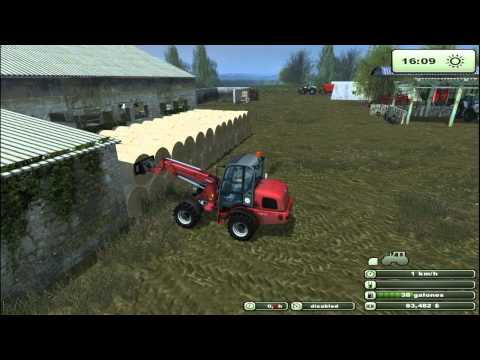Farming Simulator 2013   Feeding Cows