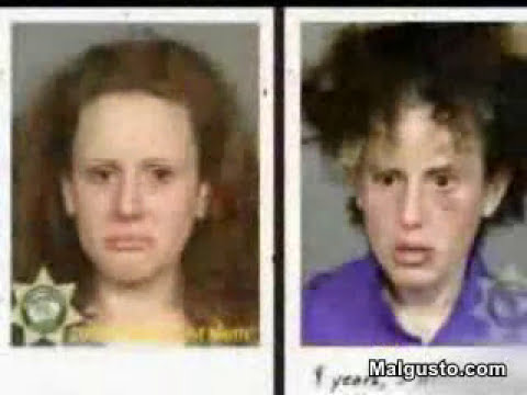 drogas,las caras del antes y el despues.