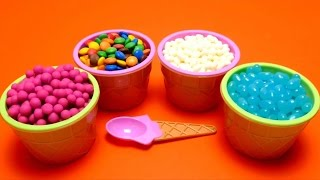 Tic Tac &  Play-Doh Dippin Dots & Jelly Belly Beans & M&M