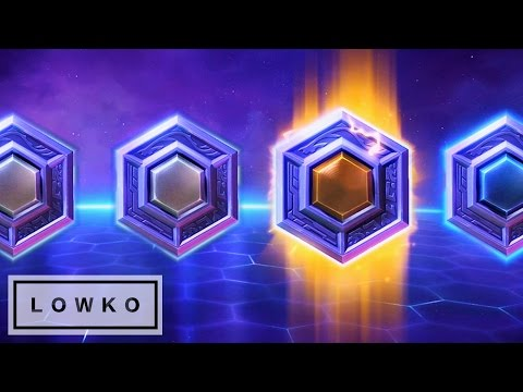 Heroes of the Storm 2.0: Opening Loot Boxes!
