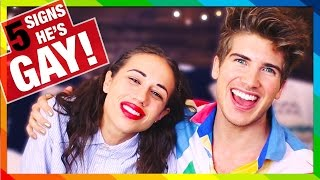 5 SIGNS YOUR BOYFRIEND IS GAY! W/MIRANDASINGS