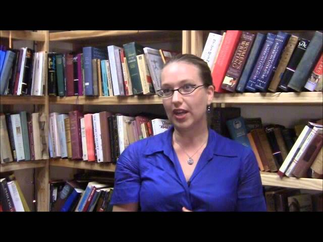 Briallen Hopper on Janet McKenzie's Stations of the Cross #7.wmv