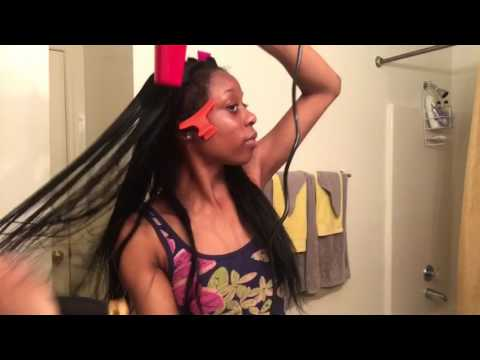 How to wash a sew-in & leave out (quick)