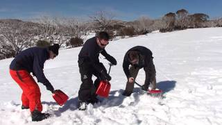 Avalanche Safety training (ATS Level 1): Companion rescue