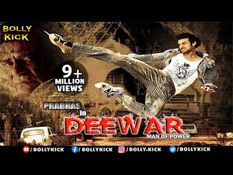 DEEWAR - Man of Power | Prabhas | Trisha | South Dubbed Hindi Action Movies 2014 Full Movie