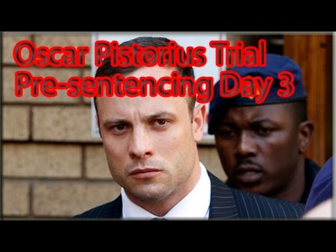 Oscar Pistorius Pre-Sentencing Arguments: Wednesday 15 October 2014, Session 1