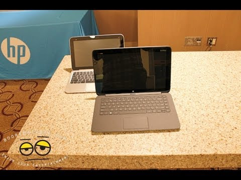 HP Split X2 & SlateBook X2 Hands-on