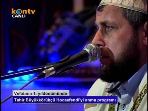 Tahir Büyükkörükçü Hocaefendi'yi Anma Programı (05-03-2012)