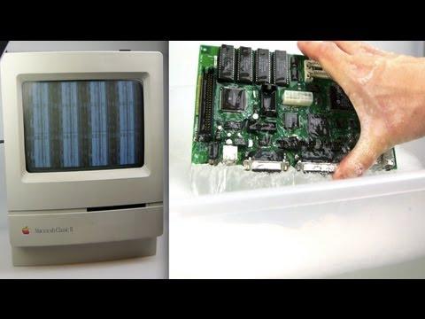 Broken Mac Classic? - Just add water