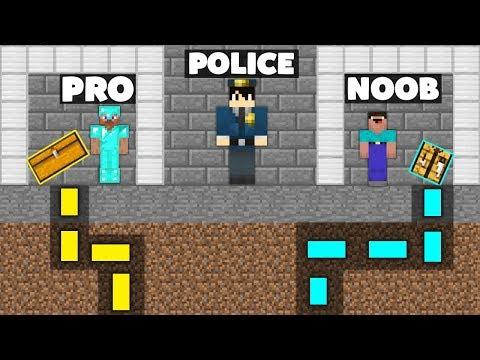 Minecraft Battle: NOOB vs PRO : SECRET MAZE PRISON ESCAPE Challenge in Minecraft Animation