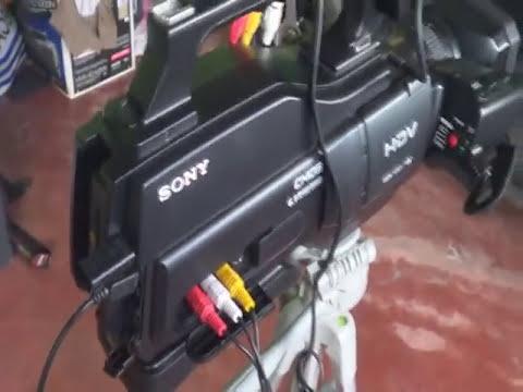 Filmadora sony HVR-HD1000 ( capturar imagen )