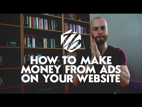 Make Money With AdSense — How To Monetize Your Website With Advertisements   #161