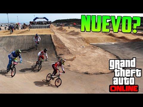 ¿nuevo Circuito Para Motocross O Bmx? - Gameplay Gta V Online Ps4 video