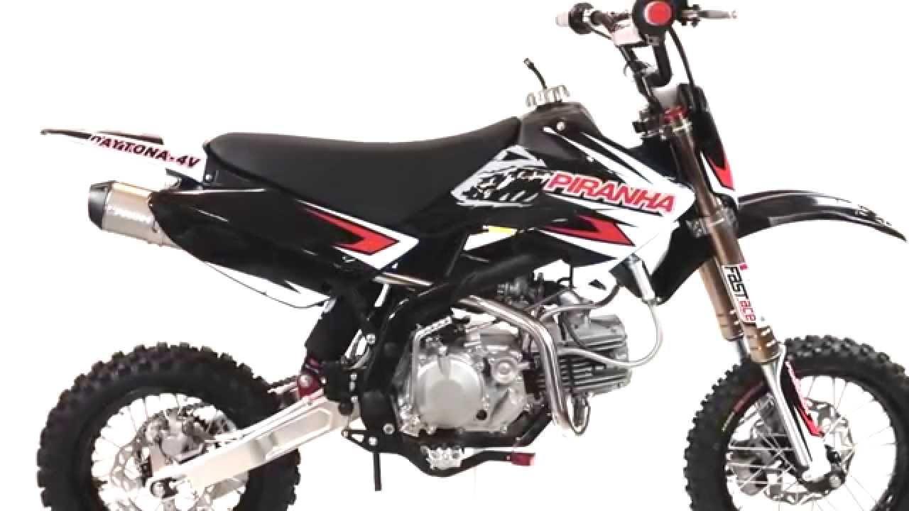 Bikes Youtube Piranha Daytona black