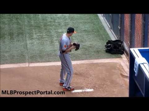 Kevin Gausman - Major League debut - bullpen session