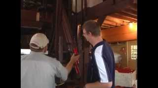 "TV 44's ""Andy's Antics"" visits the cider press"