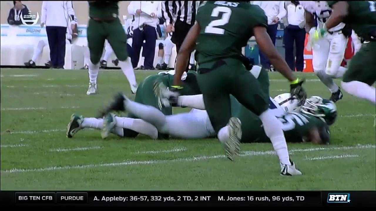 Penn State at Michigan State - Football Highlights