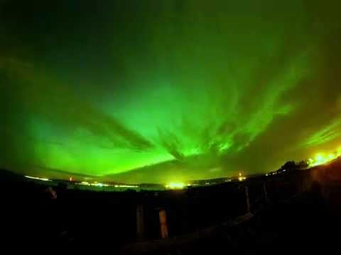 El espectáculo de las luces del norte