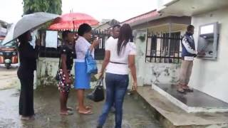Beautiful Girls Murder English Language at ATM Booth: latest naija funny video (episode 2)
