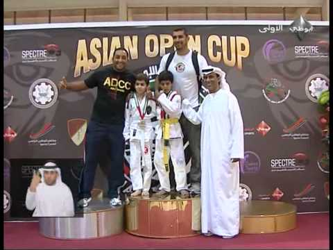 Abu Dhabi Sport TV H.H.Shaikh Mohammed Bin Zayed Al Nahyan at the Asian Open Cup , Pedro Damasceno