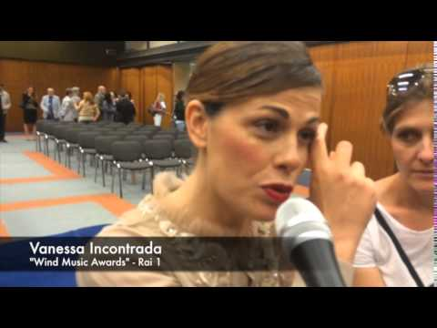 "Vanessa Incontrada parla dei ""Wind Music Awards"" su TVZoom.it"