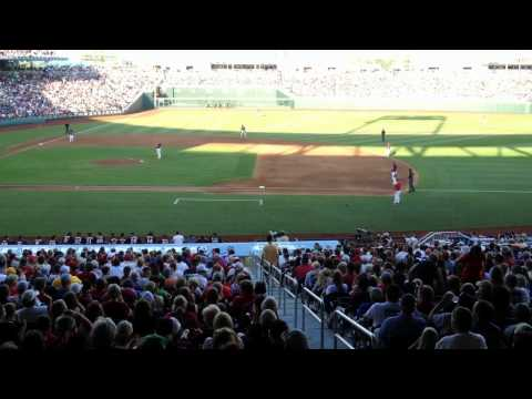 """Bulldog Roll Call"" at the 2013 College World Series"