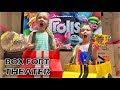 World's Biggest Box Fort Theater! Dad Vs Papa Jake!!! Fun Family Movie Night Skit!!!