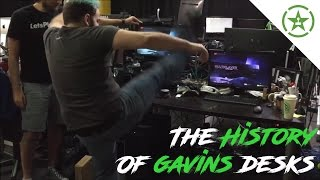 The History of Gavin Free's Desks