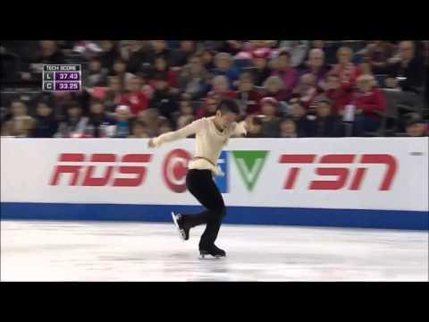 さらっと観てみよう村上大介2015スケートカナダSP『Bring Him Home』