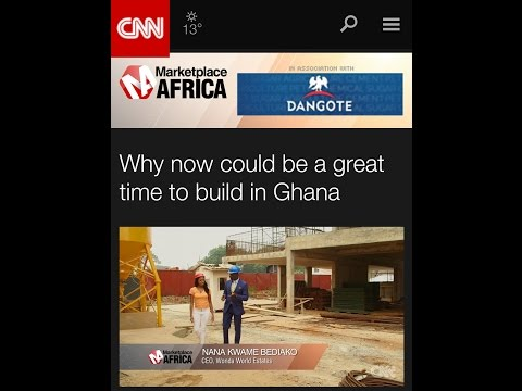 Why now could be a great time to build in Ghana