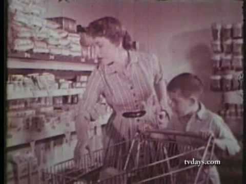 BOOMER SUPERMARKET 1962 CLASSIC TV SHOWS CARTOONS COMMERCIALS on DVD at TVDAYS.com