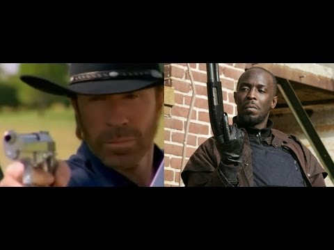 Walker Texas Ranger and Omar Intercept the Terrorist's Wire at the Skrilla Villa Row House