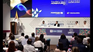 Presidente Duque en la clausura del Tourism Tech Adventures: Scaling Up - 29/Abr/2019