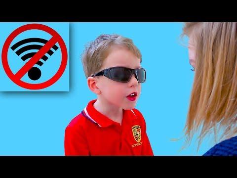 Света ОТКЛЮЧИЛА интернет! Богдан возмущен! Для Детей kids children