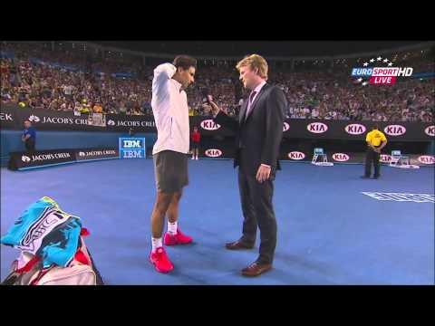 Nadal vs. Tomic, Australian Open 2014 highlights