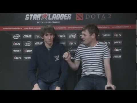 Dendi interviews prb after StarLadder Season 4 (with Eng subtitles)
