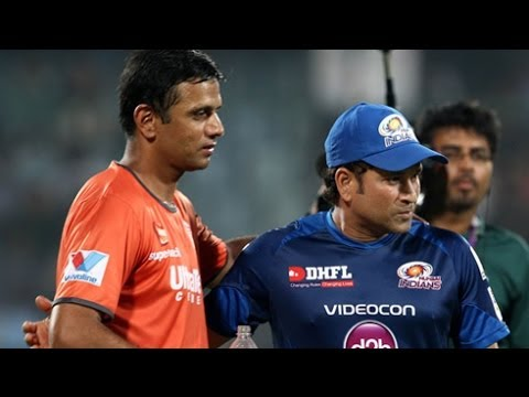 Rahul Dravid Wants Sachin Tendulkar To Enjoy His Swansong Series !