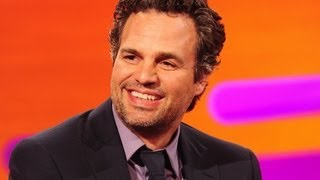 Mark Ruffalo (Hulk) en The Graham Norton Show