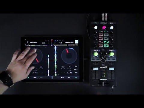 Reloop Mixtour DJ Controller with djay Pro for iPad
