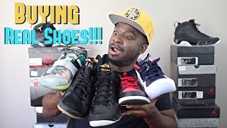 Where To Buy Real Sneakers!!!