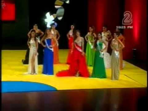 CORONACION DE MISS NICARAGUA 2011